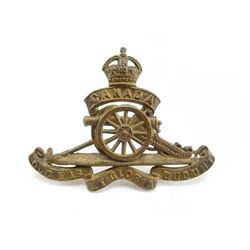ROYAL CANADIAN ARTILLERY CAP BADGE