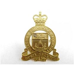ROYAL NEW BRUNSWICH REGIMENT CAP BADGE