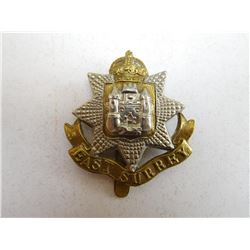EAST SURREY REGIMENT CAP BADGE