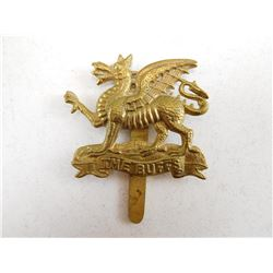 THE BUFFS REGIMENT CAP BADGE