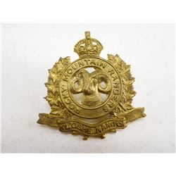 ROCKY MOUNTAIN RANGERS CAP BADGE