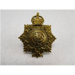 CANADIAN POSTAL CORPS CAP BADGE