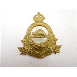 ROYAL CANADIAN ARMY PAY CORPS CAP BADGE