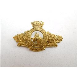 4TH PRINCESS LOUISE DRAGOON GUARD COLLAR BADGE