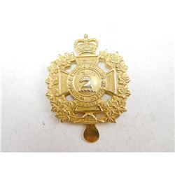 HASTINGS & PRINCE EDWARD REGIMENT HAT BADGE