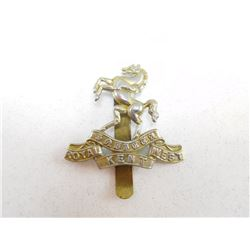 ROYAL KENT WEST CAP BADGE