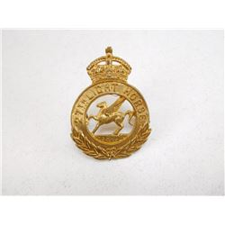 27TH LIGHT HORSE CAP BADGE