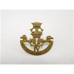 PRINCESS LOUISE'S DRAGOON GUARDS CAP BADGE