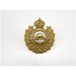 CANADIAN ENGINEERS CAP BADGE