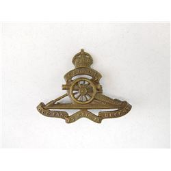CANADIAN ROYAL ARTILLERY CAP BADGE