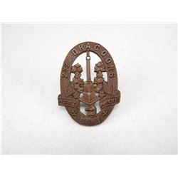 CANADA 2ND DRAGOONS CAP BADGE