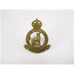 34TH ONTARIO REGIMENTCAP BADGE