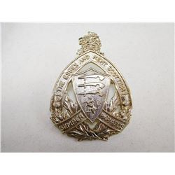 ESSEX AND KENT SCOTTISH REGIMENT CAP BADGE