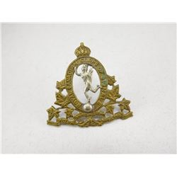 ROYAL CANADIAN CORPS OF SIGNALS CAP BADGE