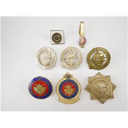 CANADIAN CORPS OF COMMISSIONAIRES ITEMS