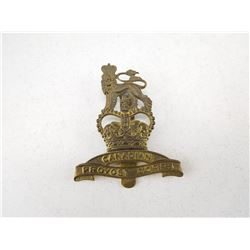 CANADIAN PROVOST CORPS CAP BADGE
