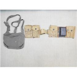 CANVAS POUCHED BELT & SATCHEL