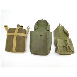 ASSORTED POUCHES & CANTEEN