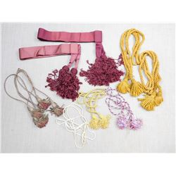 ASSORTED BRAIDS & BELTS