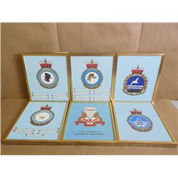 ASSORTED SQUADRON CRESTS