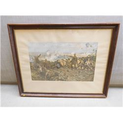 THE 2ND BATTLE OF YPRES PRINT