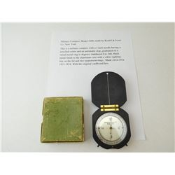 KEUFFEL & ESSER CO. MILITARY COMPASS