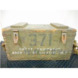 CANADIAN WW II BREN GUN MAGAZINE CHEST