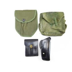 ASSORTED POUCHES & HOLSTER