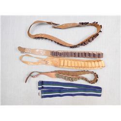 ASSORTED BELTS & SLINGS