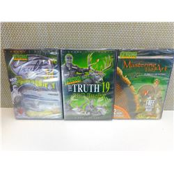 3 DVD HUNTING VIDEOS INCLUDING