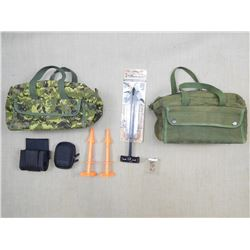 ASSORTED HUNTING GEAR