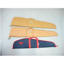 ASSORTED LOT OF 3 PADDED RIFLE BAGS