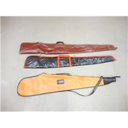 ASSORTED LOT OF 4 RIFLE BAGS