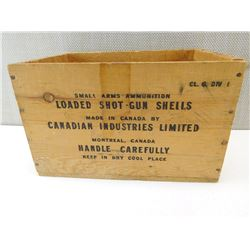 WOODEN EMPTY SHIPPING BOX