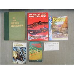 ASSORTED FIREARMS & HUNTING BOOKS