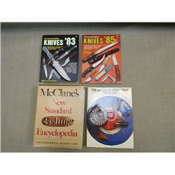 ASSORTED OUTDOORS BOOKS