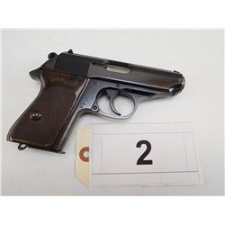 WALTHER , MODEL: PPK , CALIBER: 9MM CURTZ 380 AUTO