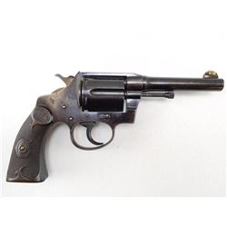 COLT , MODEL: POLICE POSITIVE FIRST ISSUE D FRAME , CALIBER: 38 SPECIAL