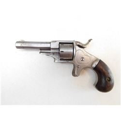 ETHAN ALLEN , MODEL: SIDE HAMMER 22 RIMFIRE REVOLVER , CALIBER: 22 SHORT