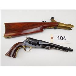 UBERTI , MODEL: COLT 1860 ARMY REPRODUCTION  , CALIBER: 44  PERC