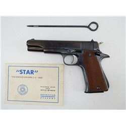 STAR , MODEL: MODELO B SUPER , CALIBER: 9MM LUGER