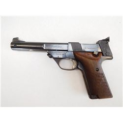 HIGH STANDARD  , MODEL: SUPERMATIC TROPHY MILITARY  107 , CALIBER: 22LR