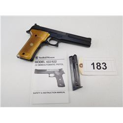 SMITH & WESSON , MODEL: 422 , CALIBER: 22LR