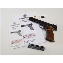 SMITH & WESSON , MODEL: 41 , CALIBER: 22LR