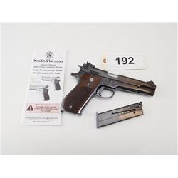 SMITH & WESSON , MODEL: 52 , CALIBER: 38 SPECIAL