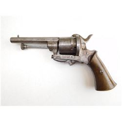 UNKNOWN BELGIAN  , MODEL: PINFIRE REVOLVER , CALIBER: 7MM PINFIRE