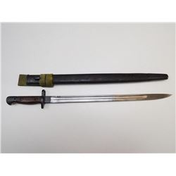 1907 PATTERN BRITISH BAYONET WITH SCABBARD