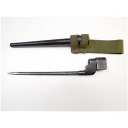 NO 4 MKII SPIKE BAYONET WITH SCABBARD AND FROG