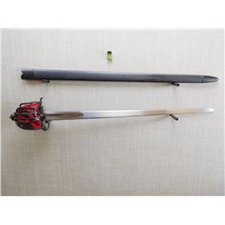 REPRODUCTION SCOTISH INFANTRY OFFICER'S SWORD