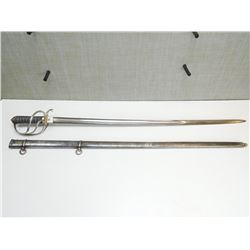 ROYAL ARTILLERY OFFICERS SWORD MADY BY PILLIN